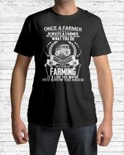 FUNNY FARMER SHIRT Classic T-Shirt lifestyle-mens-crewneck-front-1