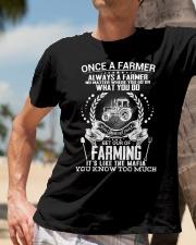FUNNY FARMER SHIRT Classic T-Shirt lifestyle-mens-crewneck-front-11