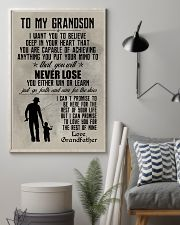 FISHING POSTER TO GRANDSON N035 11x17 Poster lifestyle-poster-1