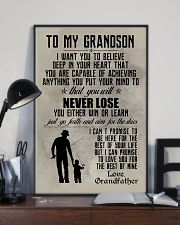 FISHING POSTER TO GRANDSON N035 11x17 Poster lifestyle-poster-2