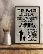 FISHING POSTER TO GRANDSON N035 11x17 Poster lifestyle-poster-3
