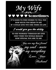 LION - My Wife  16x24 Poster front