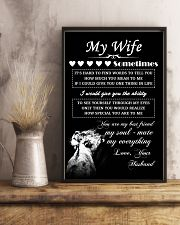 LION - My Wife  16x24 Poster lifestyle-poster-3