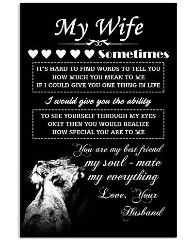 LION - My Wife