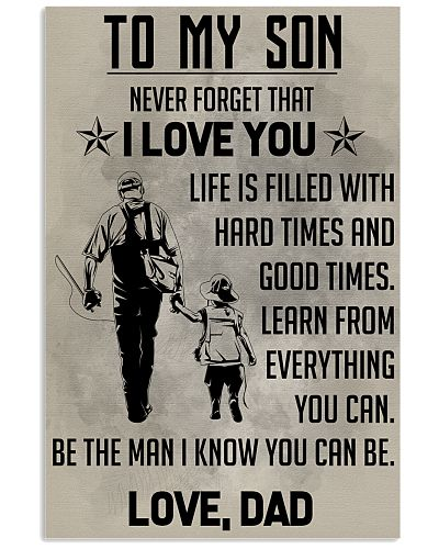 TO MY SON - FISHING