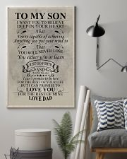 FISHING POSTER FOR SON 11x17 Poster lifestyle-poster-1