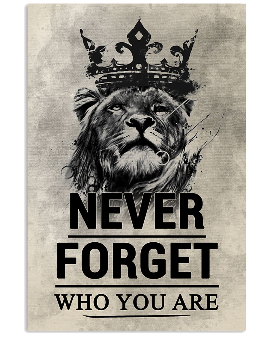 LION - NEVER FORGET 16x24 Poster
