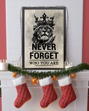 LION - NEVER FORGET 16x24 Poster lifestyle-holiday-poster-4