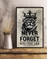 LION - NEVER FORGET 16x24 Poster lifestyle-poster-3