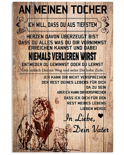 lion poster-to daughter-never lose german vs1