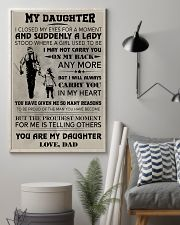 FISHING POSTER - TO MY DAUGHTER 11x17 Poster lifestyle-poster-1