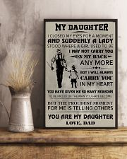FISHING POSTER - TO MY DAUGHTER 11x17 Poster lifestyle-poster-3