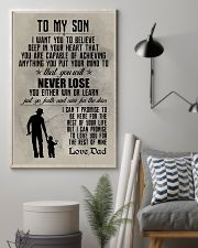 FISHING POSTER TO SON N036 11x17 Poster lifestyle-poster-1