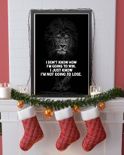 LION - A STUDENT SAID  16x24 Poster lifestyle-holiday-poster-4