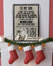 LION - TO MY SON 16x24 Poster lifestyle-holiday-poster-4