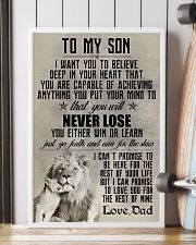 LION - TO MY SON 16x24 Poster lifestyle-poster-4