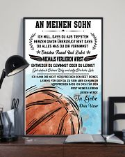 Make it the meaningful gift to your son 11x17 Poster lifestyle-poster-2