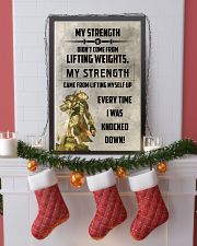 LION - MY STRENGTH 16x24 Poster lifestyle-holiday-poster-4