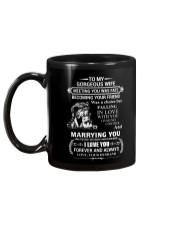 LION - TO MY GORGEOUS WIFE Mug back