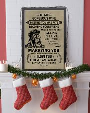 LION - TO MY GORGEOUS WIFE 16x24 Poster lifestyle-holiday-poster-4