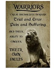 LION - WARRIOR CREAT THEMSELVES 16x24 Poster front