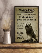 LION - WARRIOR CREAT THEMSELVES 16x24 Poster lifestyle-poster-3
