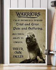LION - WARRIOR CREAT THEMSELVES 16x24 Poster lifestyle-poster-4