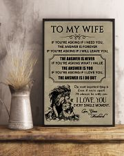 LION - TO MY WIFE 16x24 Poster lifestyle-poster-3
