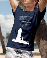 LION - A STUDEN SAID Classic T-Shirt lifestyle-mens-crewneck-front-9