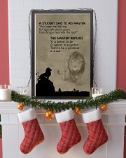 LION - A STUDEN SAID 16x24 Poster lifestyle-holiday-poster-4