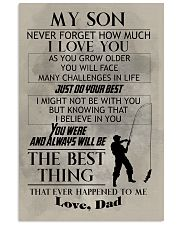 FISHING POSTER TO SON N029v2 11x17 Poster front