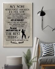 FISHING POSTER TO SON N029v2 11x17 Poster lifestyle-poster-1