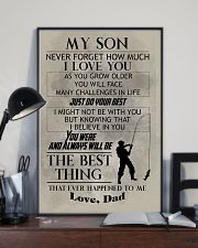 FISHING POSTER TO SON N029v2 11x17 Poster lifestyle-poster-2