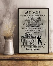 FISHING POSTER TO SON N029v2 11x17 Poster lifestyle-poster-3