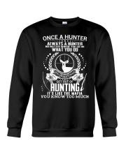 FUNNY HUNTING Crewneck Sweatshirt thumbnail