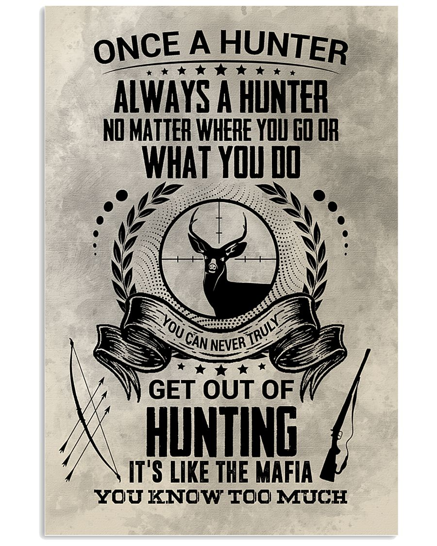 FUNNY HUNTING 16x24 Poster