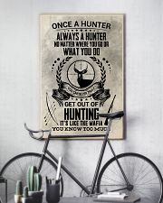 FUNNY HUNTING 16x24 Poster lifestyle-poster-7