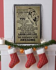 LION - TODAY IS A GOOD DAY 16x24 Poster lifestyle-holiday-poster-4