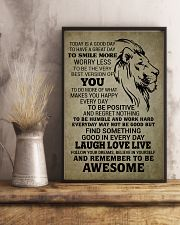 LION - TODAY IS A GOOD DAY 16x24 Poster lifestyle-poster-3