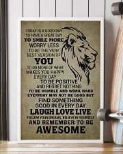 LION - TODAY IS A GOOD DAY 16x24 Poster lifestyle-poster-4
