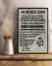 make it the meaningful gift to your son 16x24 Poster lifestyle-poster-3