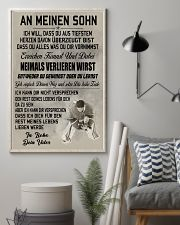 make it the meaningful gift to your son 24x36 Poster lifestyle-poster-1