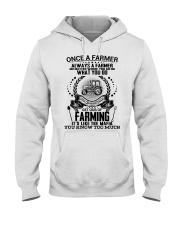 FUNNY FARMER POSTER Hooded Sweatshirt thumbnail