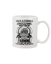 FUNNY FARMER POSTER Mug thumbnail