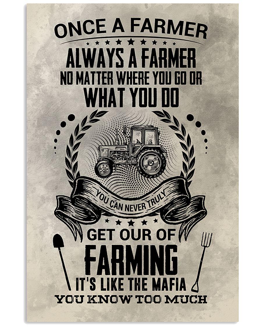 FUNNY FARMER POSTER 11x17 Poster