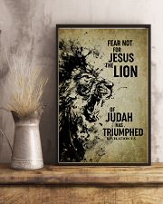 LION - FEAR NOT FOR JESUS 11x17 Poster lifestyle-poster-3