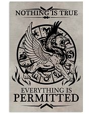 LION - NOTHING IS TRUE 16x24 Poster front