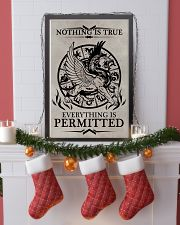 LION - NOTHING IS TRUE 16x24 Poster lifestyle-holiday-poster-4