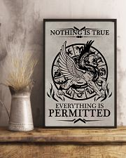 LION - NOTHING IS TRUE 16x24 Poster lifestyle-poster-3