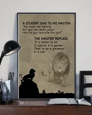 LION - A STUDENT SAID 16x24 Poster lifestyle-poster-2